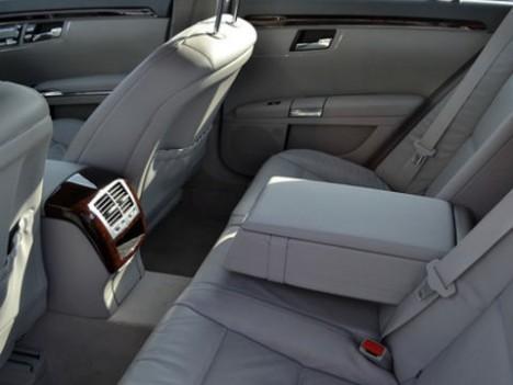 Mercedes interior rear 2