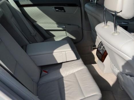 Mercedes rear interior